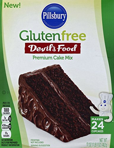 Pillsbury Gluten Free Devils Food Premium Cake Mix, 17 oz