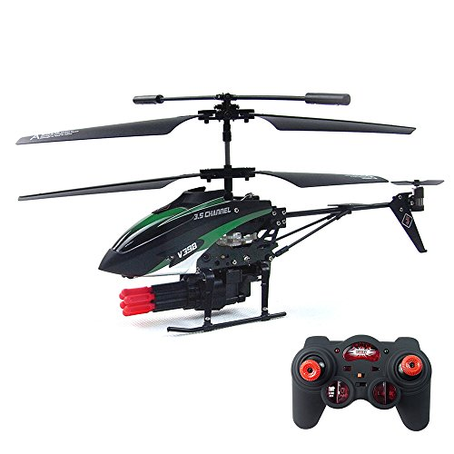 Massive Sale Gizmovine Wltoys V398 Missile Shoting RC Helicopter RTF three.5CH with Gyro  Opinions