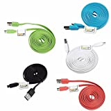 ReadyPlug USB Power Cable for: Logitech G903 Lightspeed Gaming Mouse (Coral, 6 Feet)