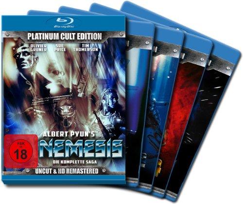 Two Disc Set - Nemesis (Complete Saga 1-4) - 7-Disc Box Set ( Nemesis / Nemesis 2: Nebula / Nemesis 3: Time Lapse / Nemesis 4: Death Angel ) ( Nemesis / Nemesis Two / Nemesis [ Blu-Ray, Reg.A/B/C Import - Germany ]