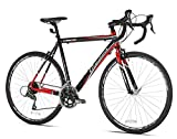 Giordano Libero 1.6 Road Bike, 700c, Black/Red, Medium Kent International, Inc (EDI)