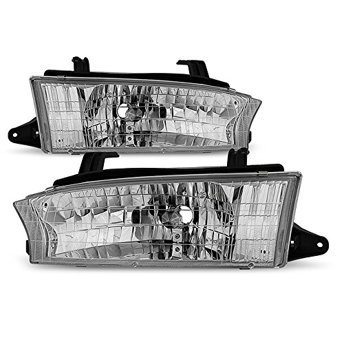 ACANII - For 1997 1998 1999 Subaru Legacy Outback Headlights Headlamps Replacement Driver + Passenger Side