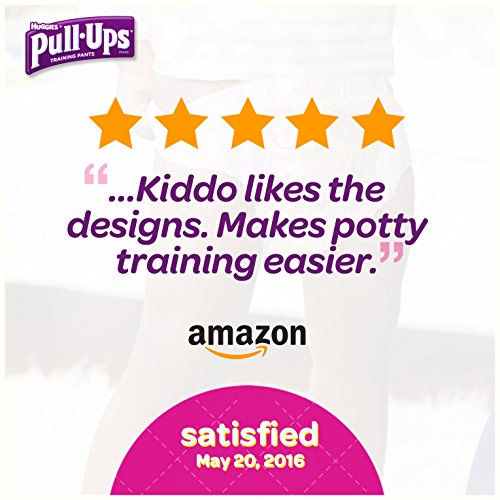 Large Product Image of Pull-Ups Learning Designs Training Pants for Girls, 2T-3T (18-34 lbs.), 74 Count, Toddler Potty Training Underwear, Packaging May Vary