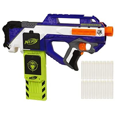 Nerf N-Strike Elite Rayven Cs-18 Blaster (Discontinued by manufacturer): Toys & Games