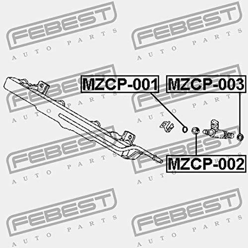 MZCP-003 Febest DER RING DER D/ÜSE DES BRENNSTOFFES