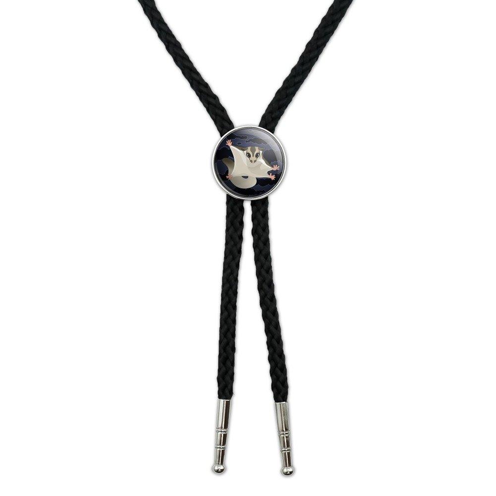 Sugar Glider of the Night Western Southwest Cowboy Necktie Bow Bolo Tie