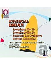 BRIAN. Symphonies Nos.10 & 30. RNSO/Brabbins