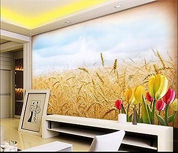 WH-PORP Benutzerdefinierte Wandbild Wohnzimmer 3D Tapete ...