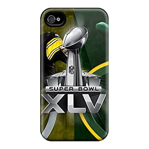 High Quality Phone Cases For Apple Iphone 4/4s With Custom HD Green Bay Packers Pictures AshleySimms