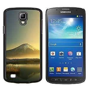 TECHCASE---Cubierta de la caja de protección para la piel dura ** Samsung Galaxy S4 Active i9295 ** --Mountain Lake