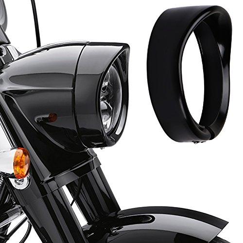 Buy harley headlight trim ring