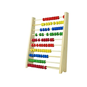 Multicolour AKORD BA-9 Kids Educational Toy Wooden Abacus