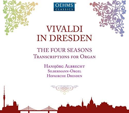 Vivaldi in Dresden - The Four Seasons, Transcriptions for Organ