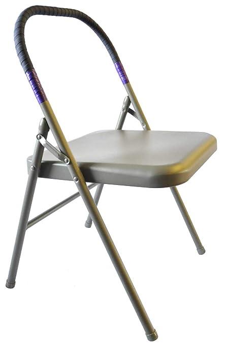 Amazon.com: Pune Yoga Iyengar chair-purple: Sports & Outdoors