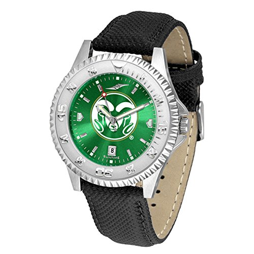 Colorado State Rams Competitor AnoChrome Men's Watch by SunTime