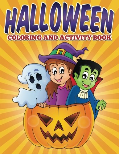 Halloween Coloring and Activity -
