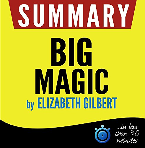 Summary Big Magic Creative minutes product image