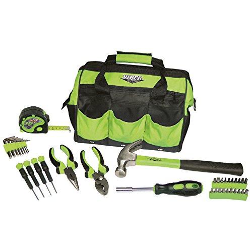 12 Task Bags (Viper Tool Storage V30TBKLG 30-Piece Tool Set, w/ 12-Inch Tool Bag, Lime Green)
