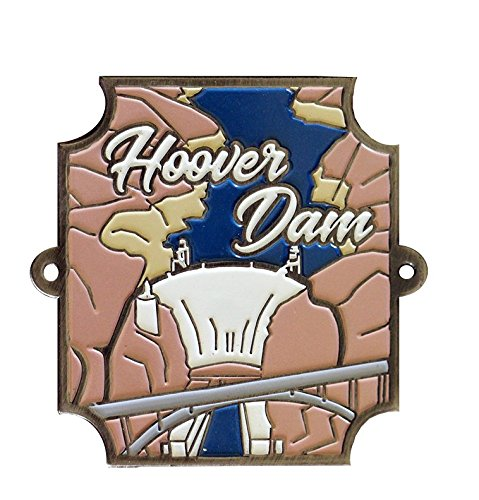 Hoover Dam Hiking Stick Medallion (Medallion Stamped)