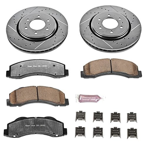 - Power Stop K3167-36 Front Z36 Truck and Tow Brake Kit