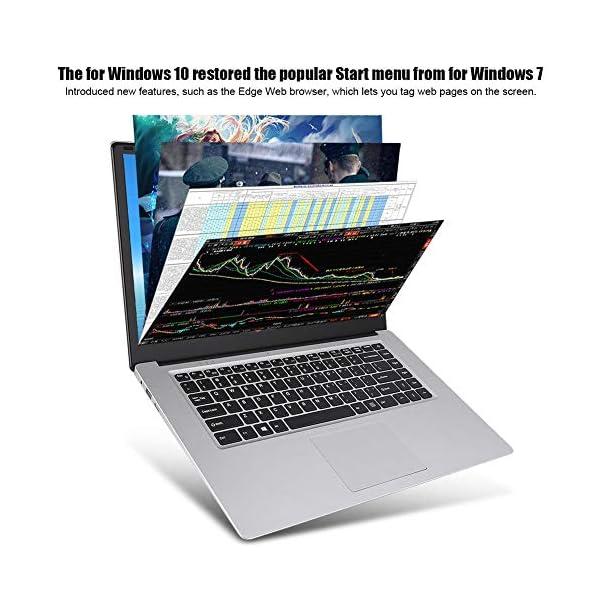 "15.6 "" Notebook - YEPO N15 15,6 pollici IPS 1920 x 1080 HD Notebook PC Laptop per Windows 10, per CPU Intel Celeron N3350, DDR3 6GB, 64GB EMMC, Supporto USB/Bluetooth 4.0/Mini HDMI/WiFi(Spina UE) 3 spesavip"