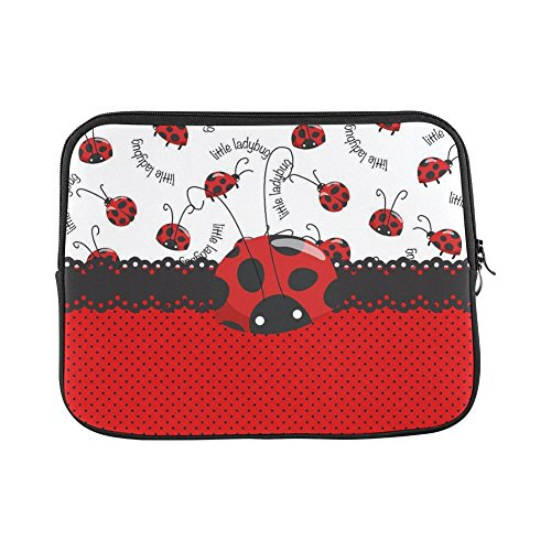- Fashionable Style Ladybug & Polka Dots Theme Pattern Macbook, Macbook Air/Pro 13 Inch All 13
