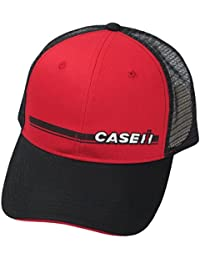 Black and Red Trucker Mesh Hat