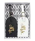 25% off The Paisley Box Mr. & Mrs. Luggage Tag Set