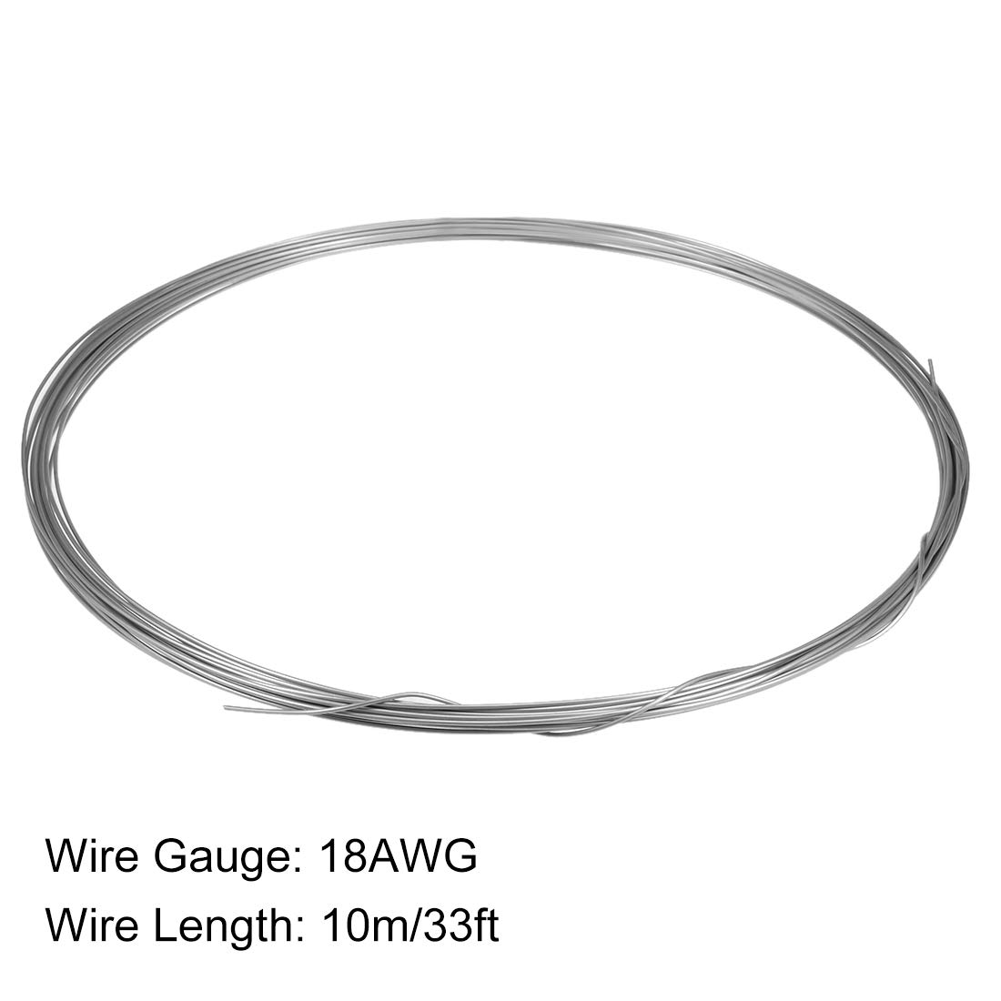 uxcell 15 Gauge Resistance Wire Wrapping 41ft Nichrome Heating Resistor Wires