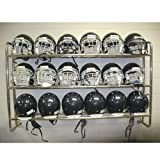 Pro Down Wall Mounted Helmet/Ball Rack