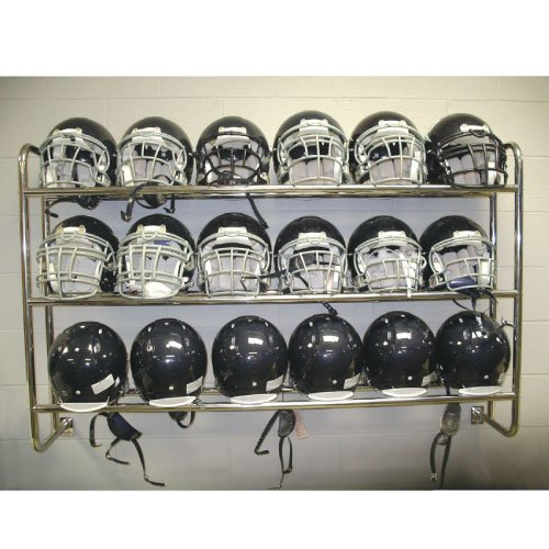 Pro Down Wall Mounted Helmet/Ball Rack Sport Supply Group Inc. 1197739
