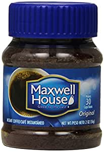 Maxwell House Instant Coffee, 2-Ounce Jars (Pack of 12)
