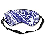 Jia Li Fabric Polynesian Tattoo Fashion Sleep Mask Sleep Eye Mask