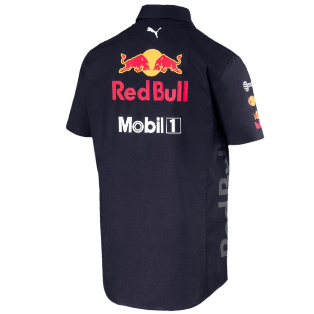 Red Bull Formula 1 Aston Martin 2018 Mens Team Blue Team Shirt ...