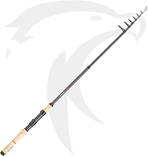 Dam Shadow Tele Mini Spinning Fishing Rod, Travel-Fishing-Rod
