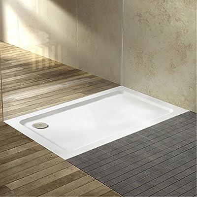 Trueshopping rectangular luz fuerte Durable moderno diseño baño ...