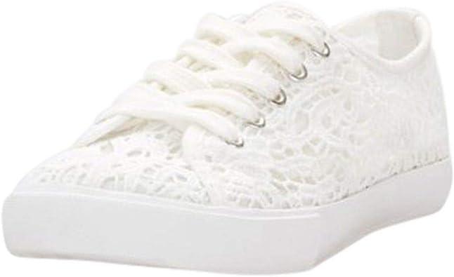David's Bridal Crochet Lace Sneakers