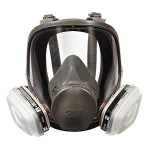 M  Full Facepiece Spray Paint Respirator Organic Vapor