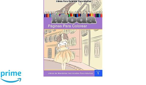 Libros Para Colorear Para Adultos: Moda páginas para colorear-Libros ...