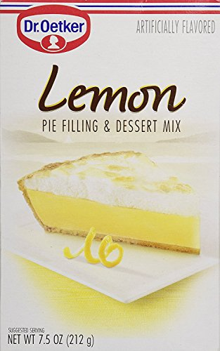 Oetker Pie Filling, Lemon, 7.5-Ounces (Pack of 12)