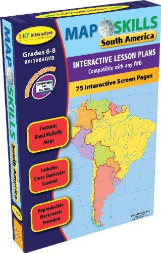 Amazon.com: Map Skills: South America IWB CD: Ready-to-use Digital ...