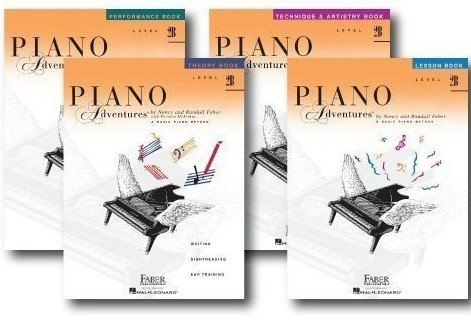 Faber Piano Adventures Level 2B Learning Library Set Incl...