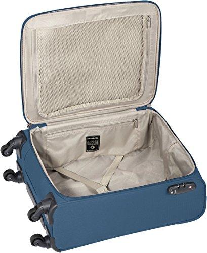 Samsonite Base Hits Spinner 55/20 Cabin Luggage, 55 cm, 39 L, Steel Blue