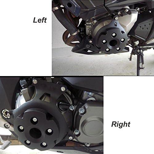 Z800 Motorrad Links /& Rechts Motor Stator Schutzh/ülle f/ür Kawasaki Z800 2013 2014 2015 2016 Gr/ün