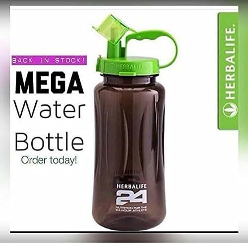 New Brand 2000ml Herbalife Nutrition Milk Shake Bottle with Straw Inside Tritan Plastic BPA Free