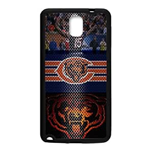 Hoomin Fashion Cool Chicago Bears Samsung Galaxy Note3 Cell Phone Cases Cover Popular Gifts(Laster Technology)