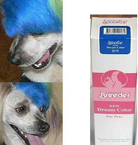 Pet Dye azul color tinte de pelo gran perro venta 50 G ...