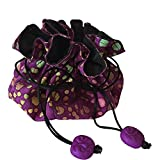 Luggage Spotters Travel Jewelry Pouch Cosmetic Bag (Purple)
