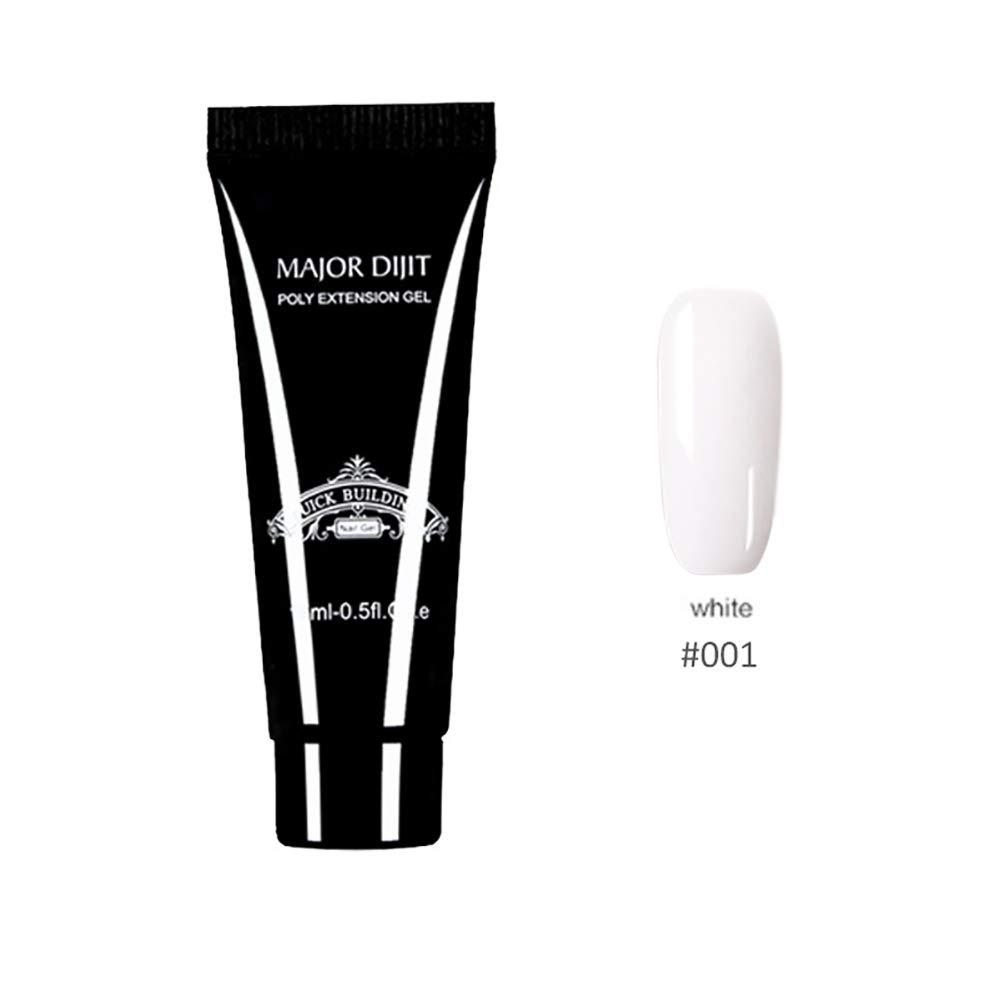 Extension Gel Nail, Rowentauk UV Gel Nail Builder Nail Phototherapy Glue Long Lasting Quick Drying Gel Nail Polish Nail Art Tools