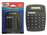 CALCULATOR 5X3.66X4.75''TILT BLACK CLR , Case of 96